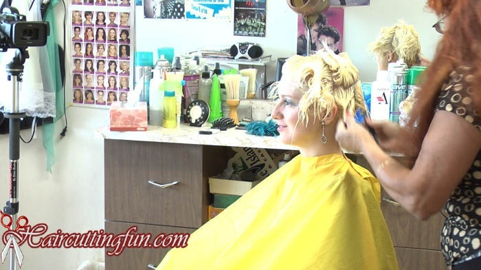 Kat's Hair Conditioning with Purple Foils and Roller Set - VOD Digital Video on Demand