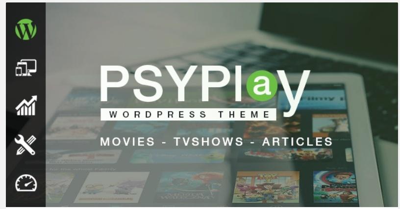 Psyplay Wordpress Theme