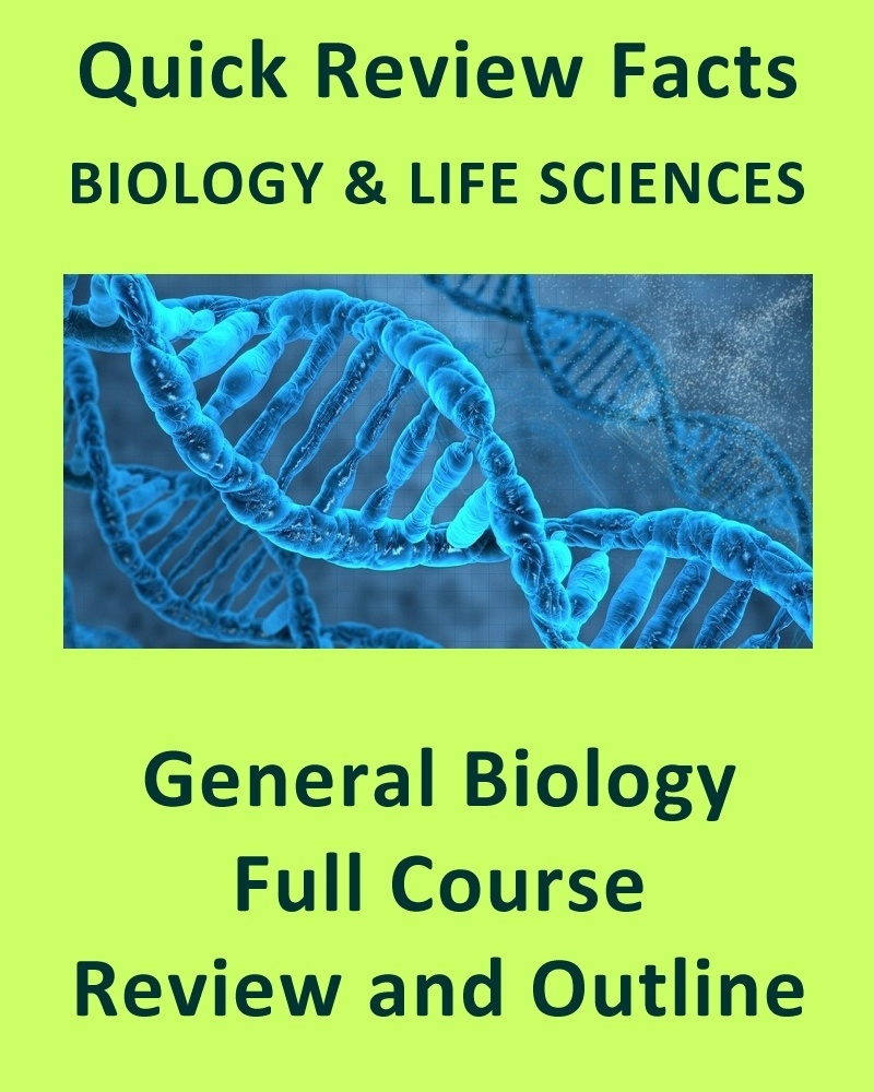General and AP Biology Full Course Review Notes and Outline (168 Pages)