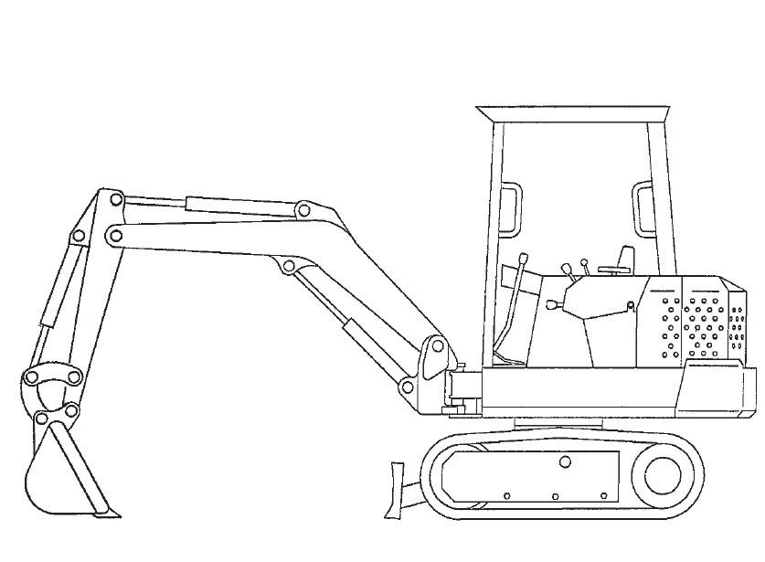 Bobcat X 120 Excavator Service Repair Manual Download