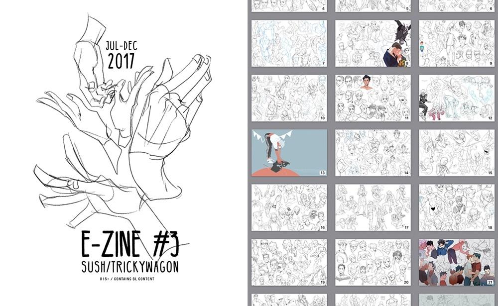 BUNDLE: 2017 e-ZINES (#2 and #3)