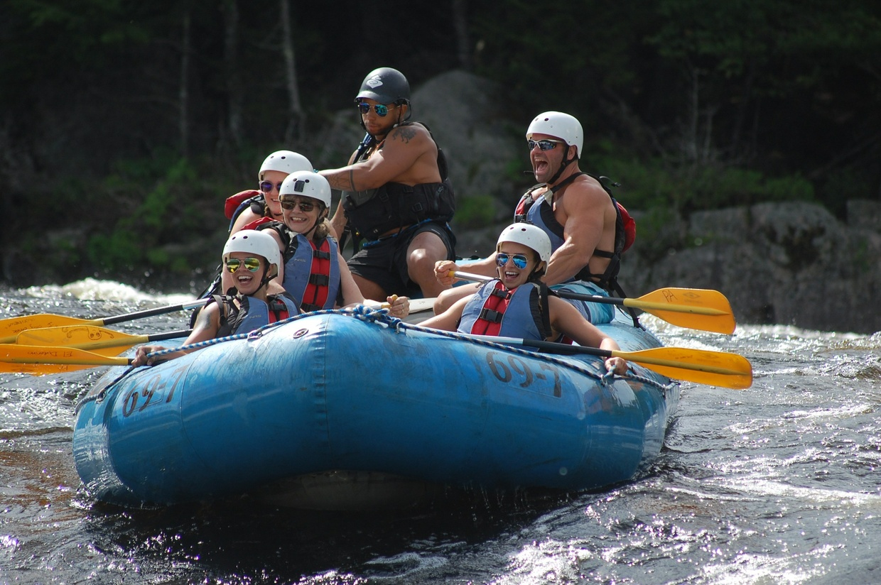 Penobscot Rafting Video 07/22/2017
