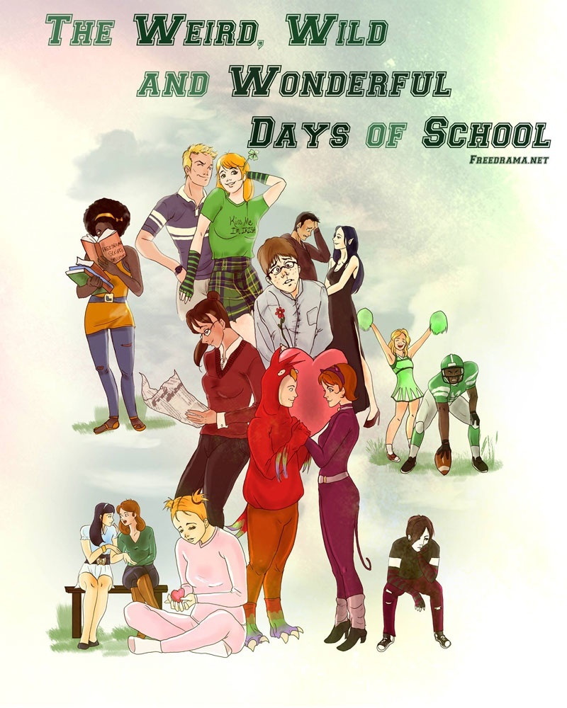 The Weird, Wild and Wonderful Days of School stage play script PDF