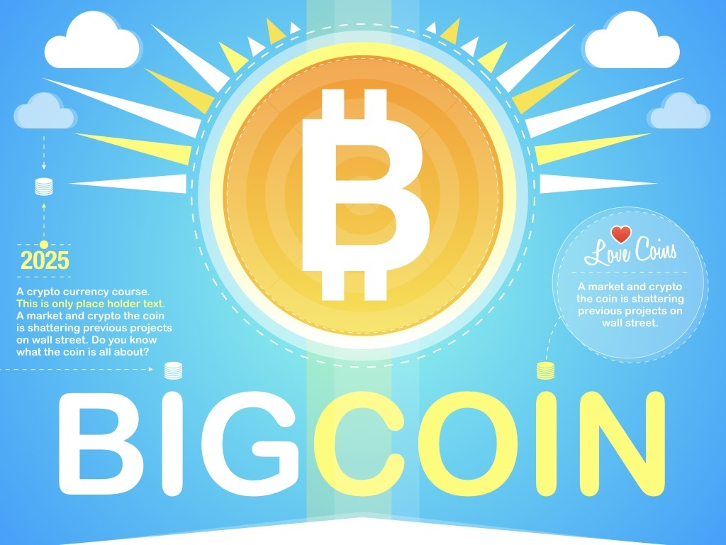 BIGCOIN Keynote Or Powerpoint Theme