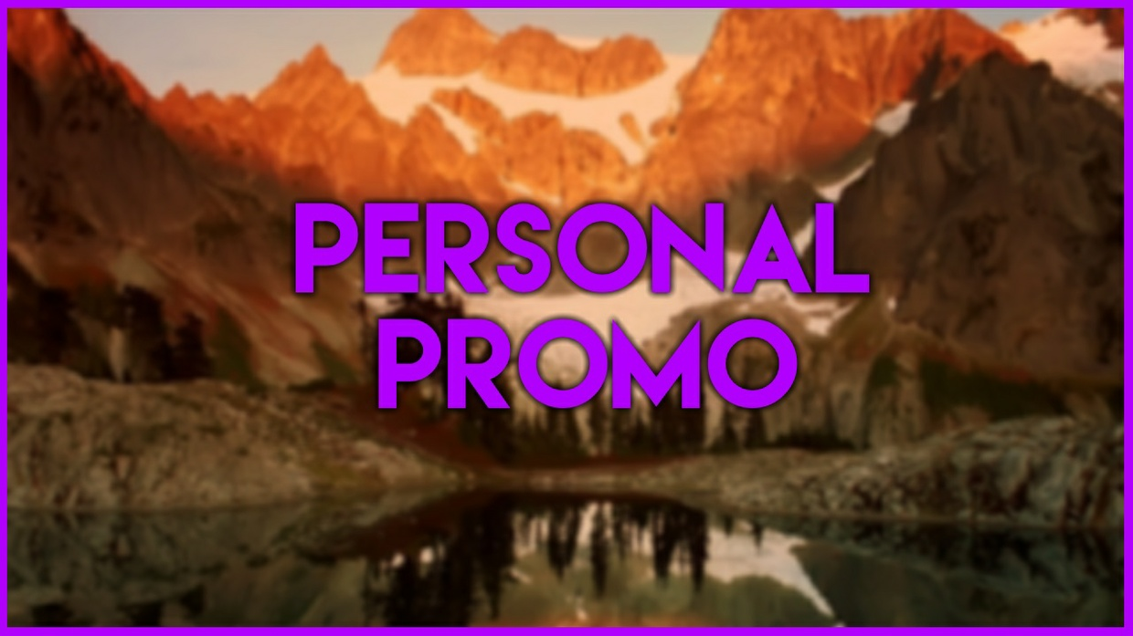 Personal Promo ($ or €)