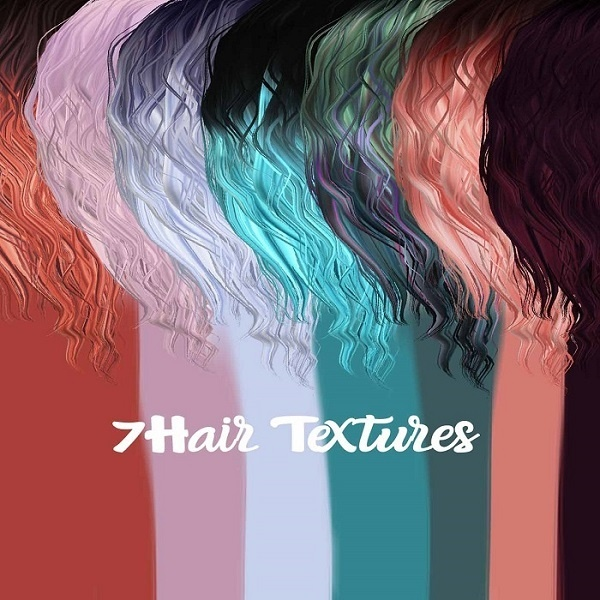 Pack Two Hair Textures