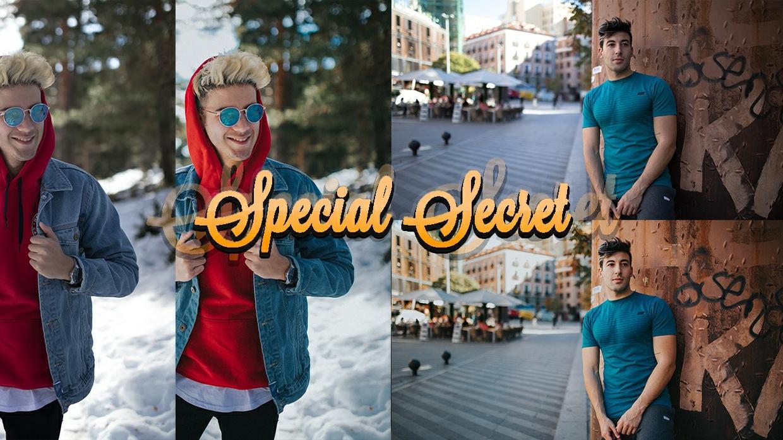 Lightroom Preset DRB Special Secret + Pinceles + Tutorial | @donrubenblanco