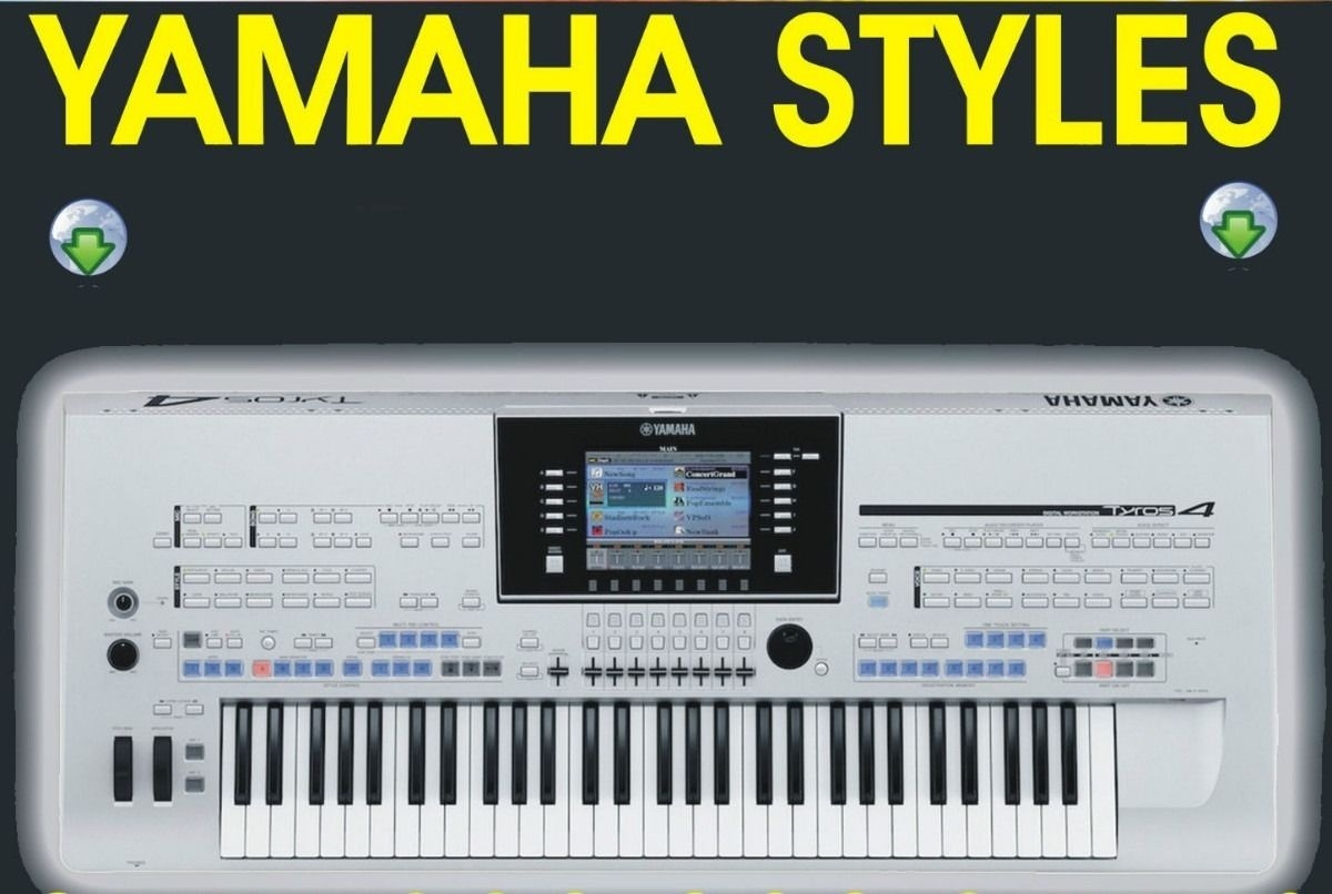 Party pack Yamaha keyboard Tyros, PSR, CVP