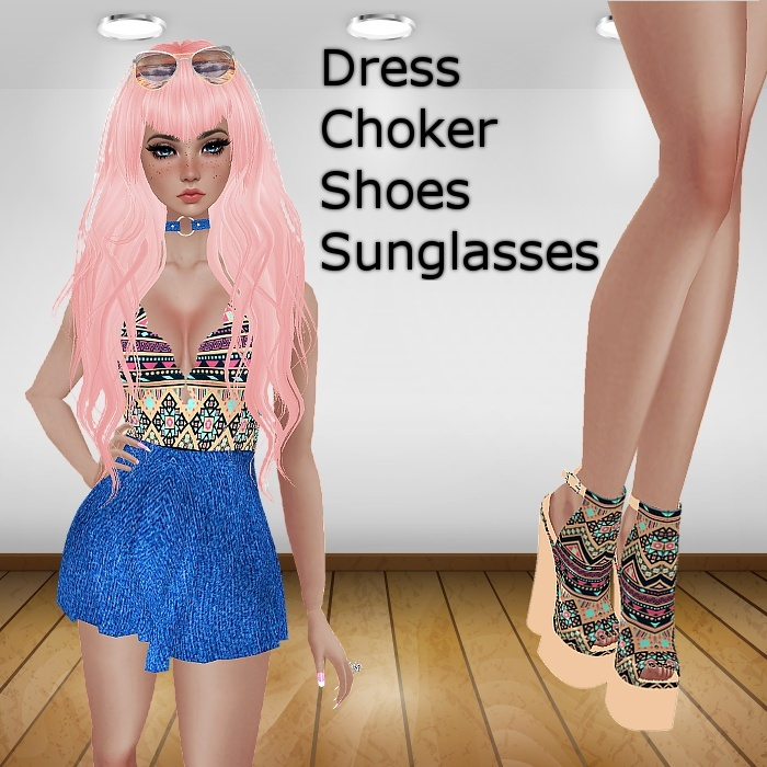 Boho Denim Outfit (With Resell)
