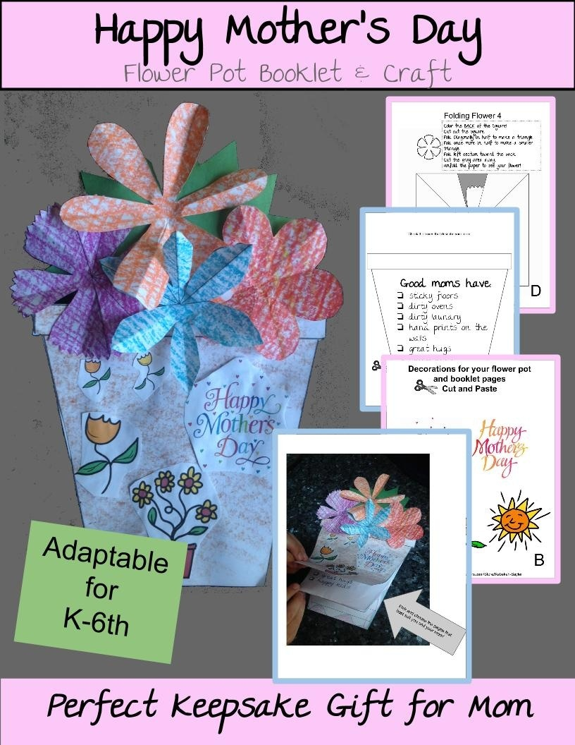 Mother's Day Craft and Keepsake
