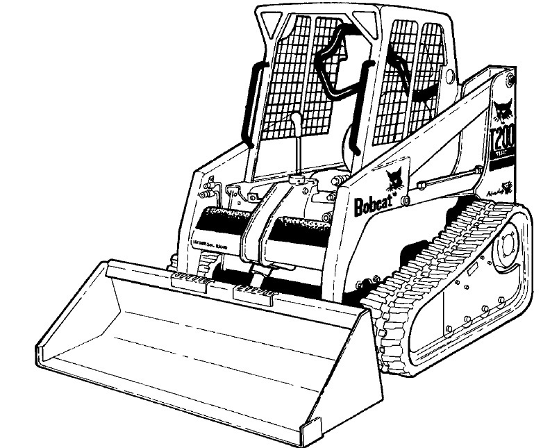 Bobcat T200 Compact Track Loader Service Repair Manual Download