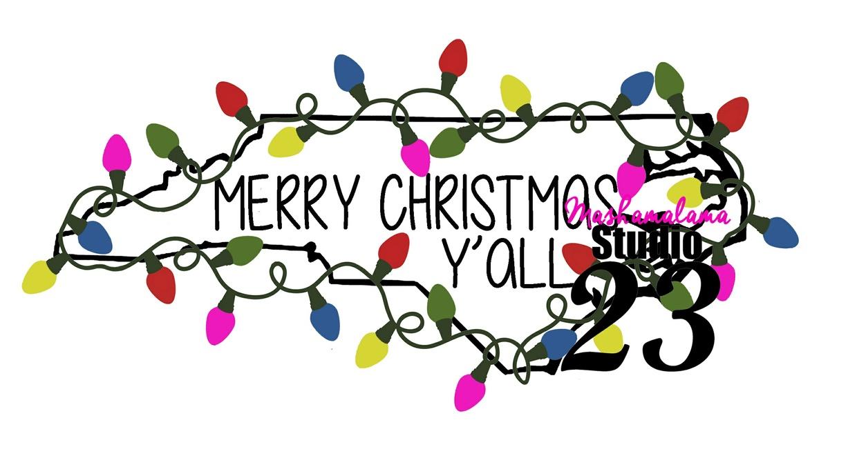North Carolina - Merry Christmas Y'all