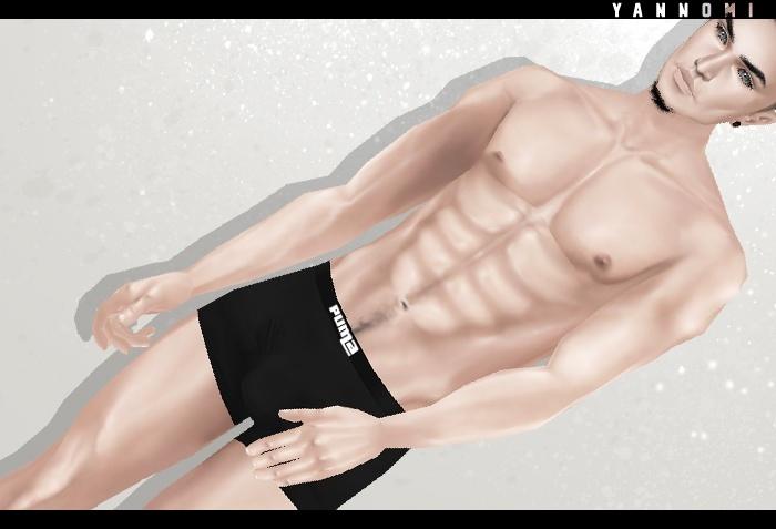 :: IMVU - Male Skin template 2015 ::
