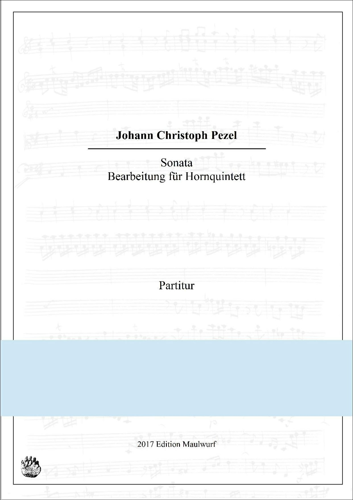 Pezel Sonata (Hornquintett)