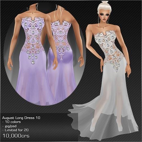 2013 Aug Long Dress # 10