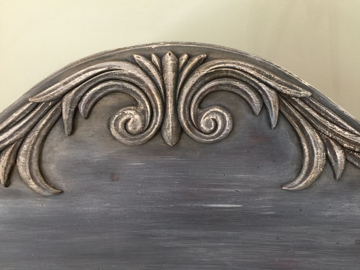 Timeless Weathered Wood Finish- For Beds!