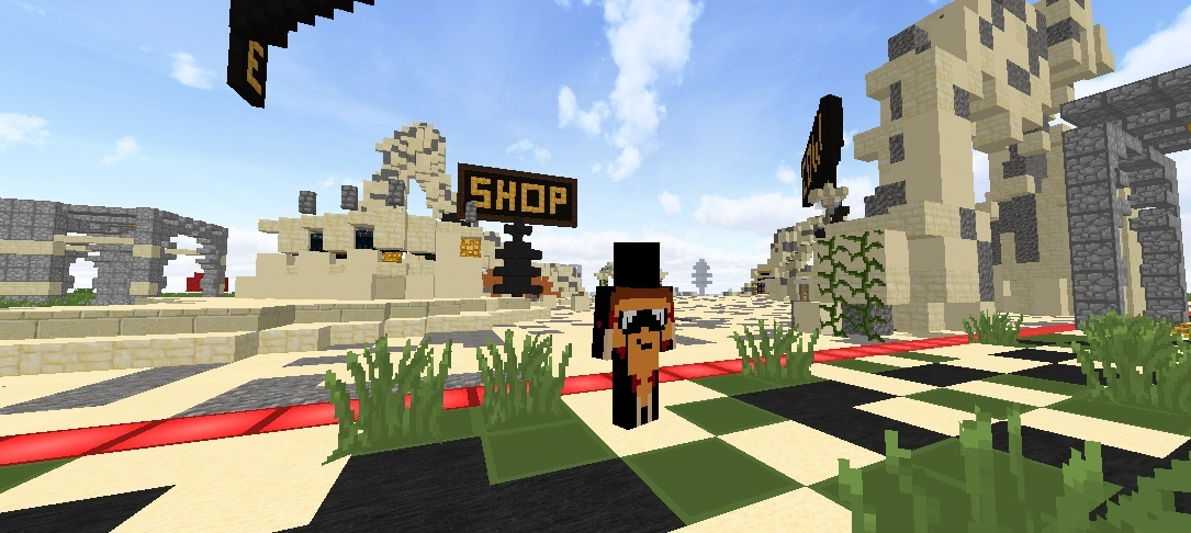 [10 Copies Left]Cheapest MiniHCF Custom Spawn (SandStone Themed)- $5 -CLEAN SIMPLE SPAWN