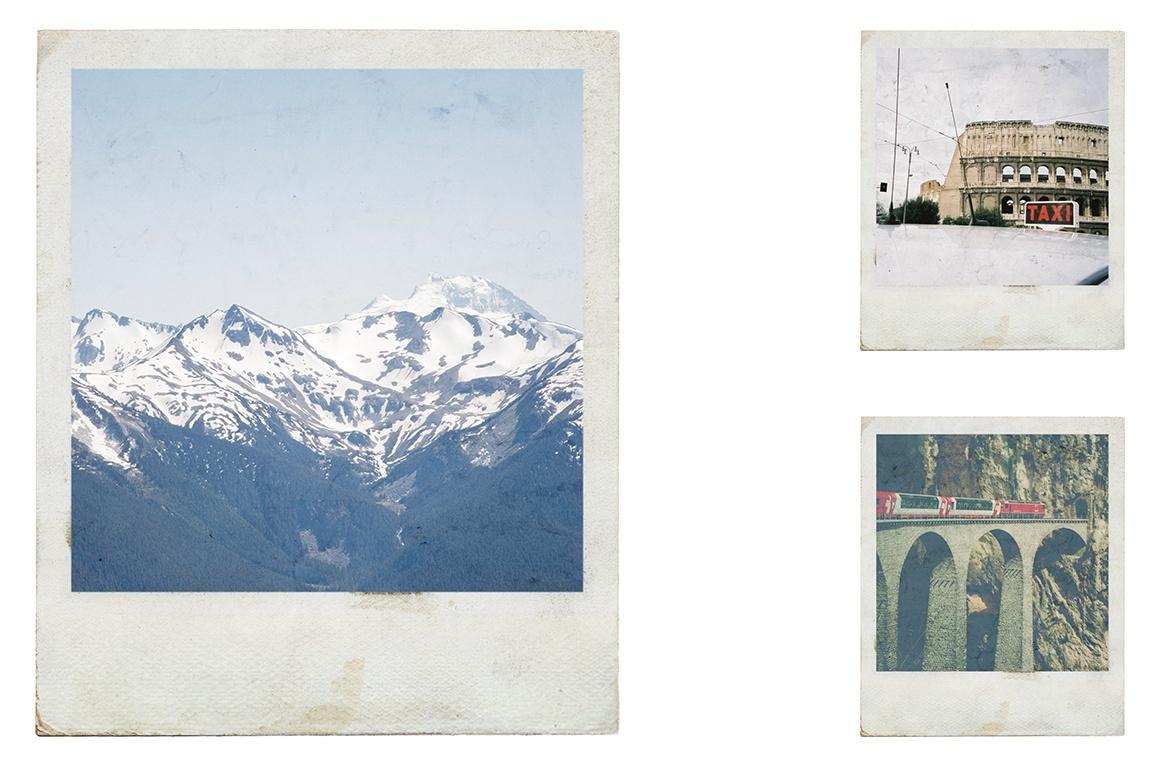 vintage polaroid effects