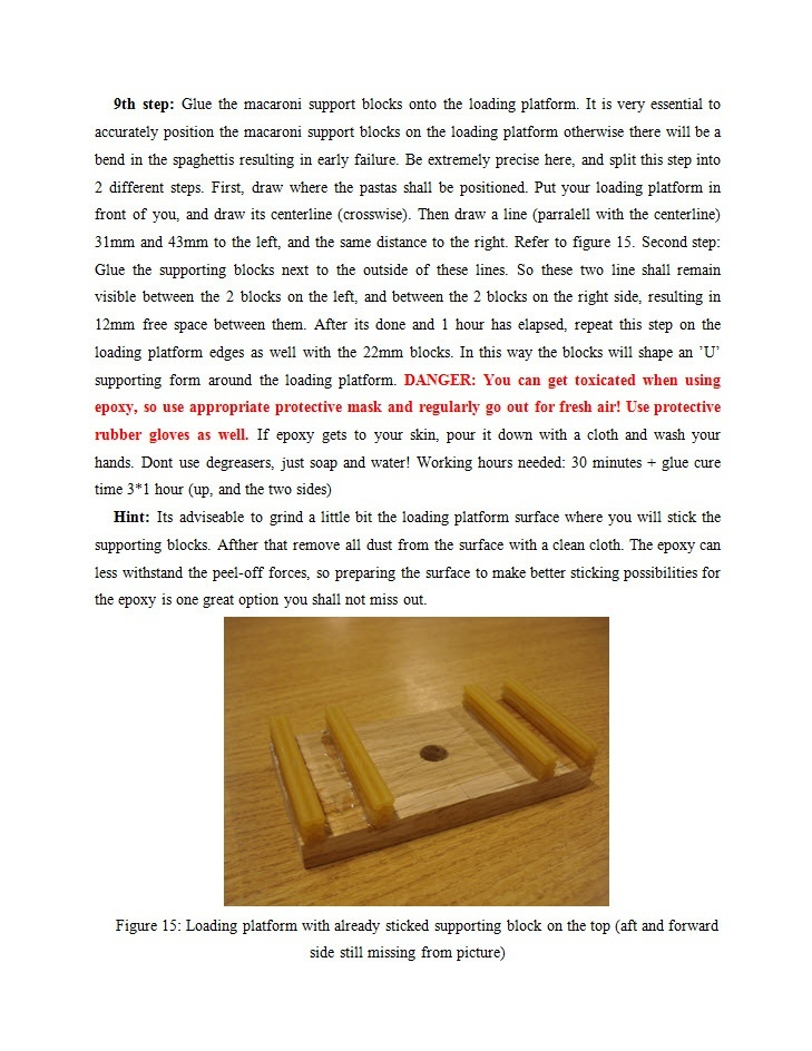 How To Build The Best Pasta Bridge DIY Guide Book (from the pen of a World Champion)