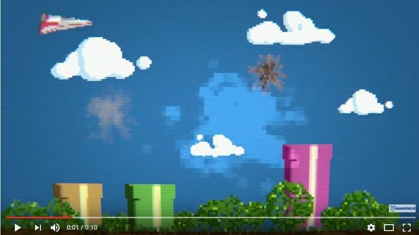 """Intro Logo Video """"8bit"""" mit Deinem Logo"""