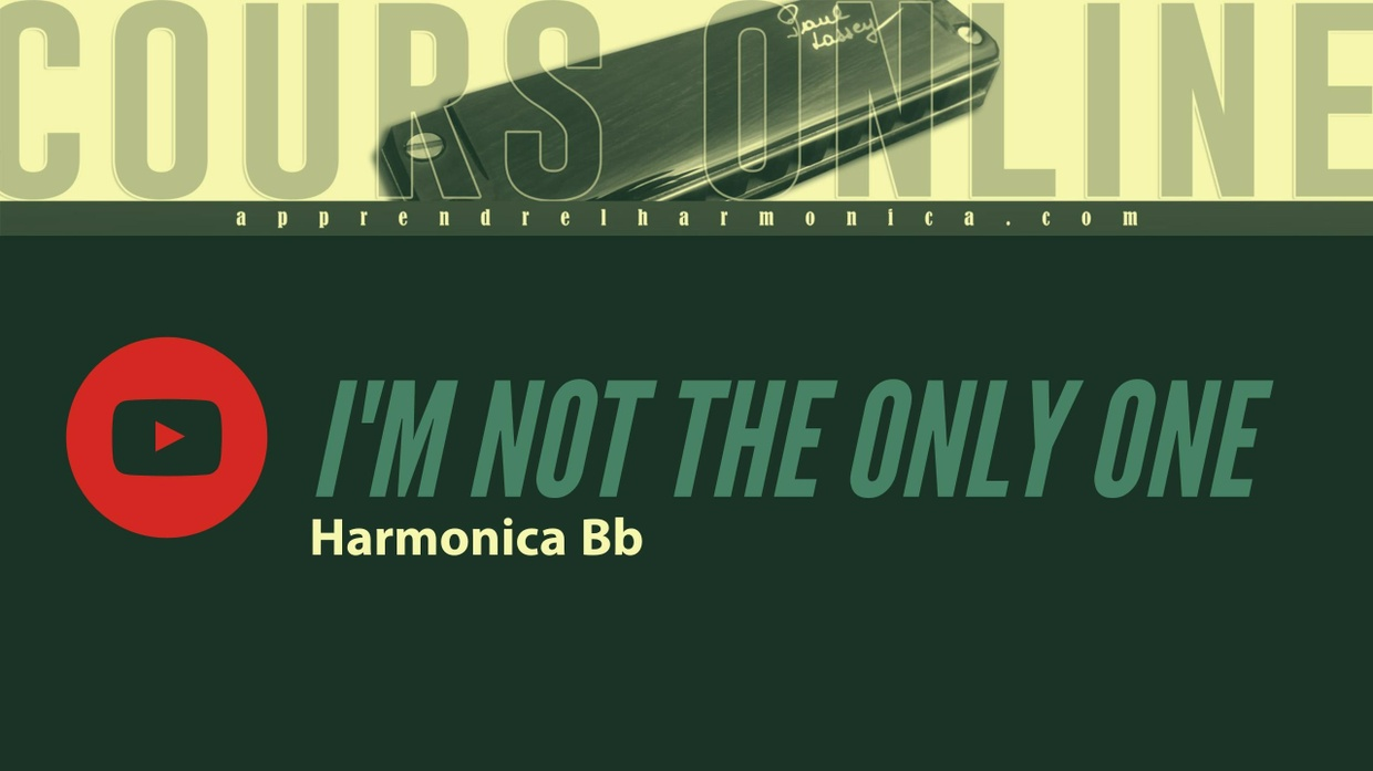 I'm Not The Only One - Sam Smith - Harmonica Bb