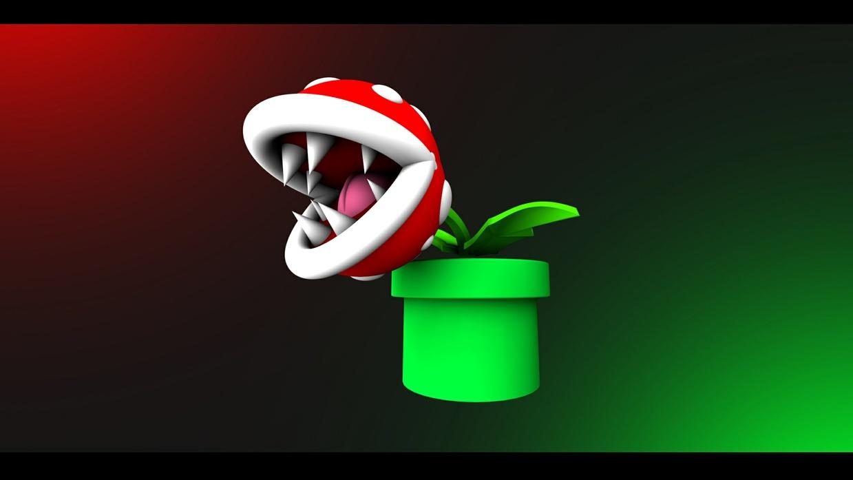 Piranha Plant - [Cinema 4D]