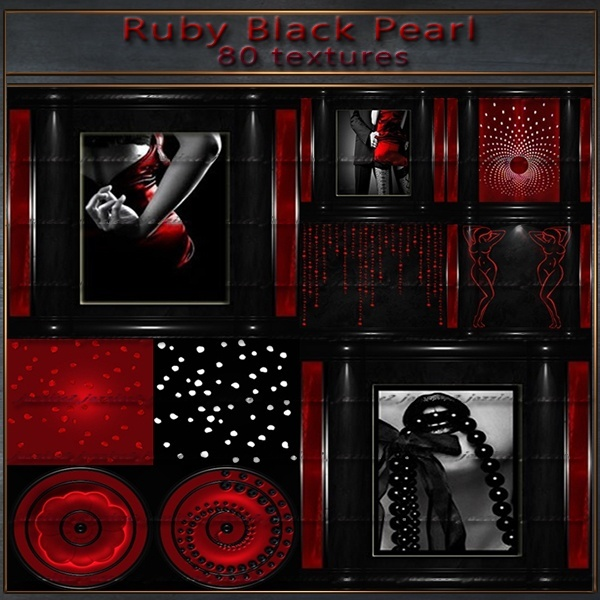 Ruby Black Pearl 80 textures