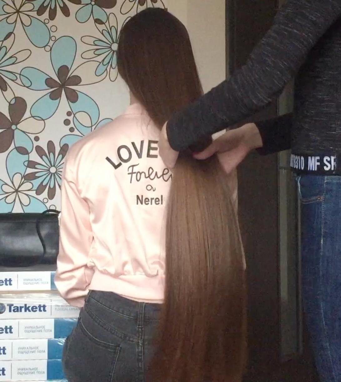 VIDEO - Irina´s hair is a dream
