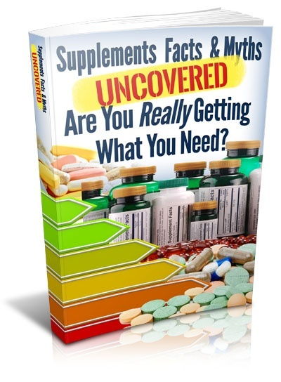 Supplements Facts And Myths