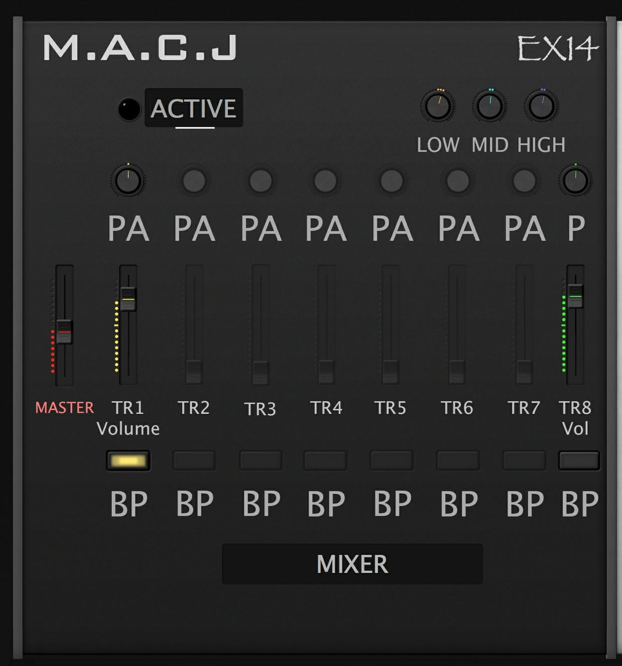M.A.C.J EX14 SynthRack