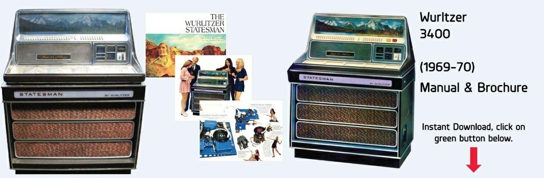 "Wurlitzer 3400 ""Statesman"" (1969-70)"