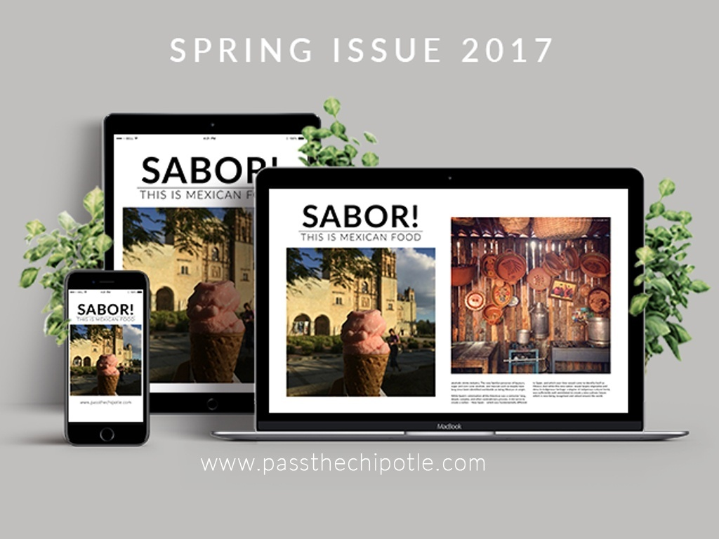 SABOR! This is Mexican Food. Spring Issue 2017