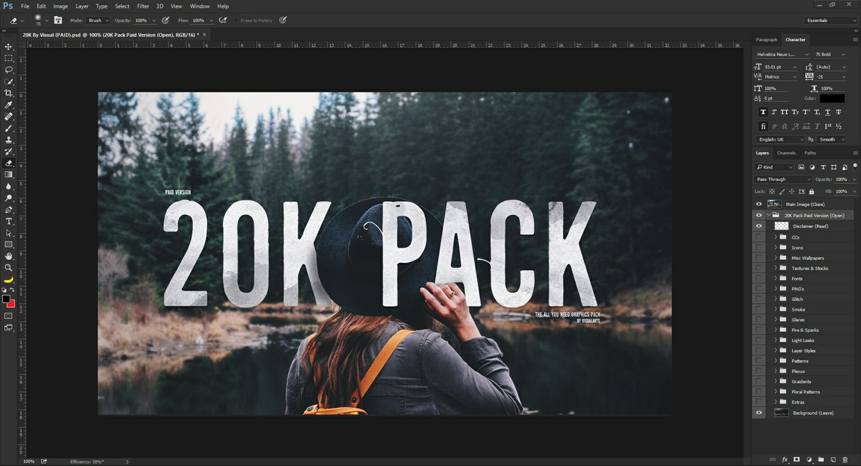 20K Graphics Pack!