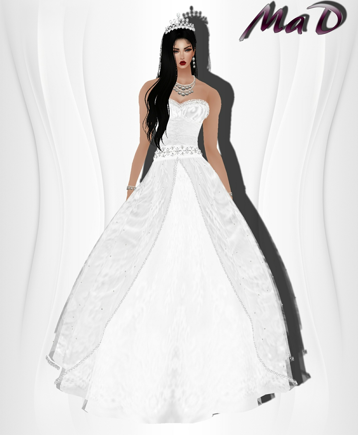 MaD Wedding Queen set ONLY CATTY