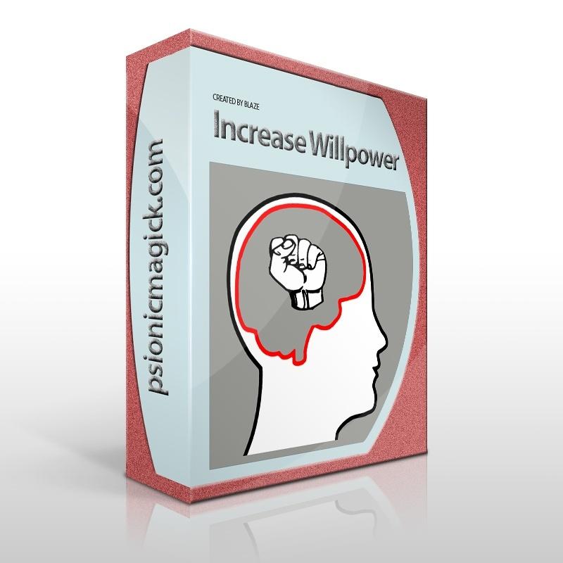 Increase Willpower Sigil