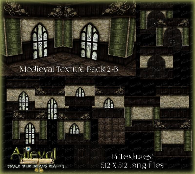 Medieval Texture Pack 2-B
