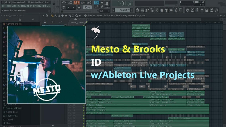 [Full] [FL Studio Remake] Mesto & Brooks- ID (Coming Home) (+FLP)