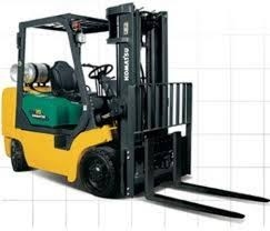 Komatsu CX Series Forklift Truks  Parts manual
