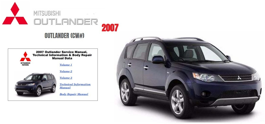 Mitsubishi Outlander 2007 Factory Service Manual PDF