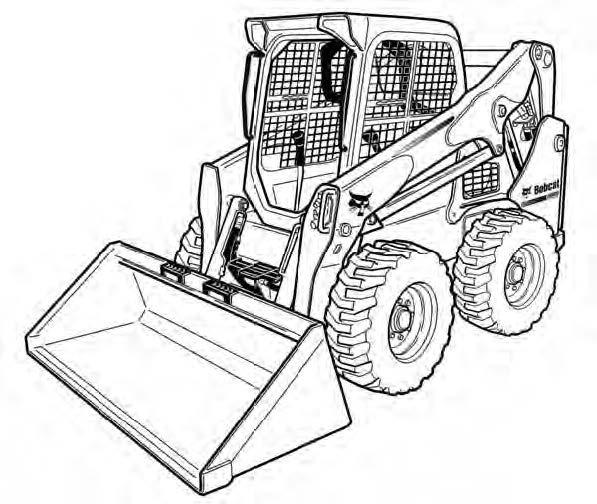 Bobcat S530 Skid-Steer Loader Service Repair Manual Download(S/N A7TV11001 & Above)