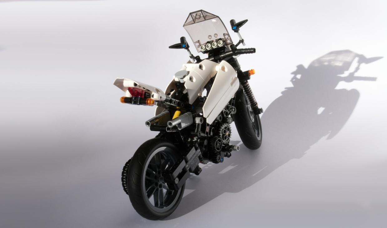 6 Speed Lego Motorbike MOC