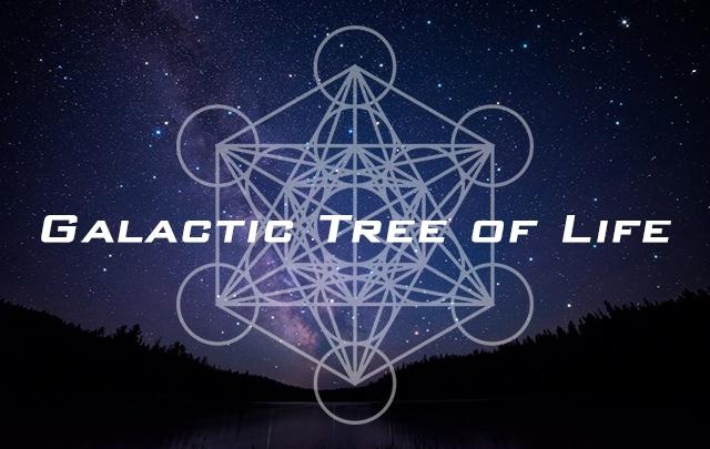 Galactic Tree of Life - Balance For The Times - 441 Cube Matrix - Meditation Music