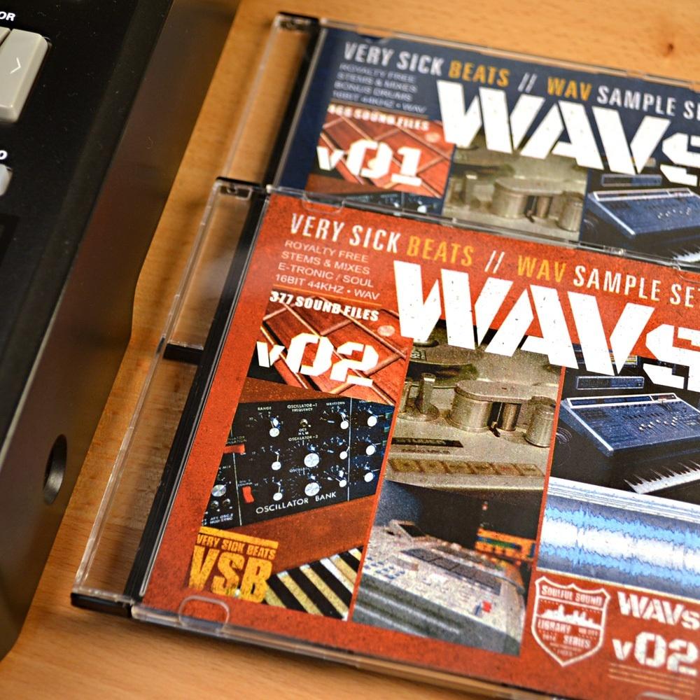Very Sick Wavs 1 & 2 Sample Library Bundle