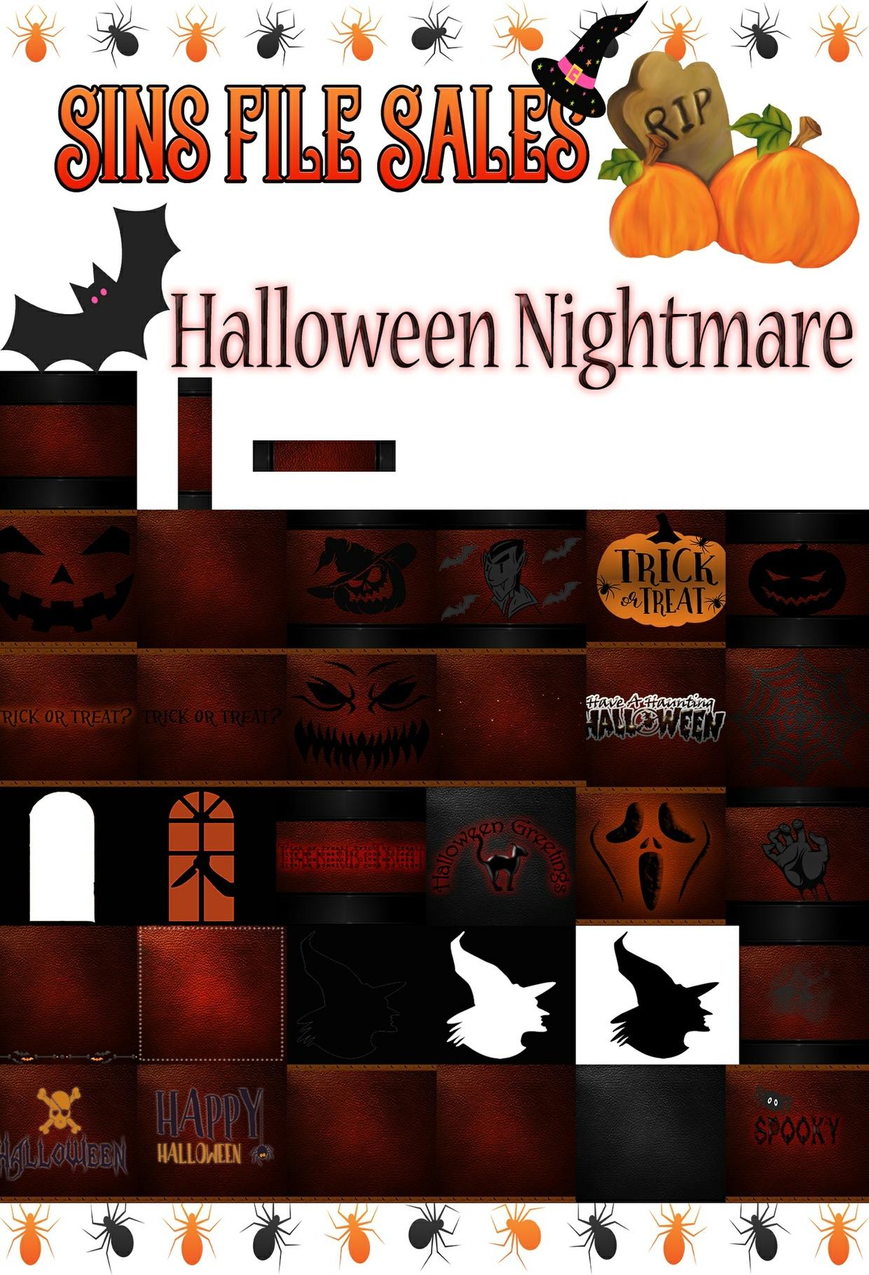 Halloween Nightmare Textures