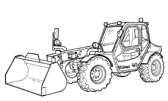 Bobcat V518 VersaHANDLER Service Repair Manual Download(S/N A8G811001 & Above ...)