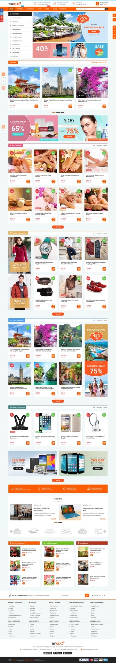 TopDeal - Multipurpose Wordpress Theme