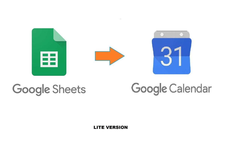 Script - Google Sheet to Google Calendar