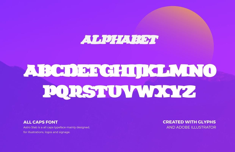 Astro Slab Font