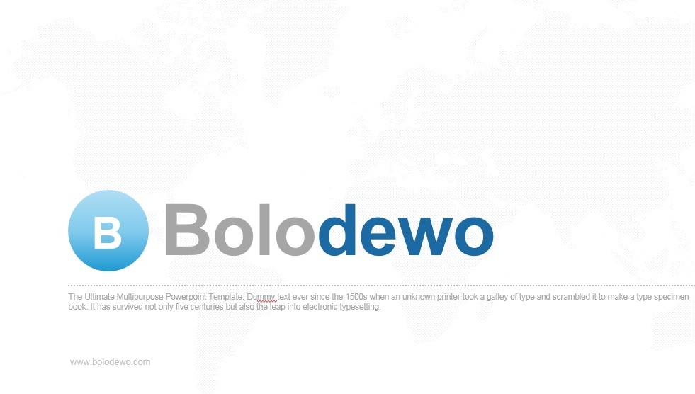 Bolodewo PowerPoint Presentation Template