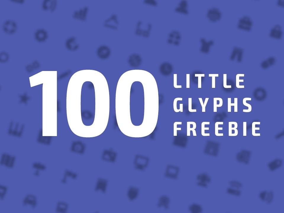 100 Little Glyphs Freebie
